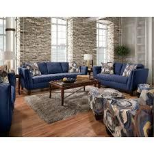 blue living room set mid century modern blue 2 piece living room set patchquilt rc