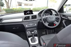audi q3 dashboard used audi q3 2014