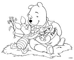 free printable winnie pooh coloring pages kids 1st