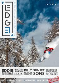 edge magazine tignes val d u0027isere la rosiere sainte foy by
