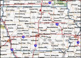 map of iowa towns map of iowa cities swimnova com