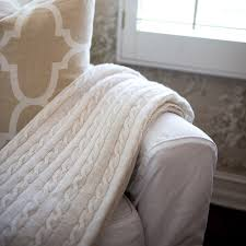 monogram cable knit blanket classic prep monograms