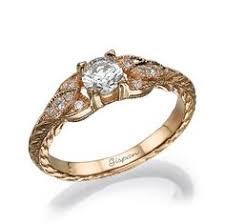 verlobungsring vintage 2ct moissanite verlobungsring ring 14k zwei ton gold