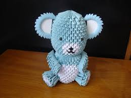 3d origami teddy bear tutorial part 1 things to make and do
