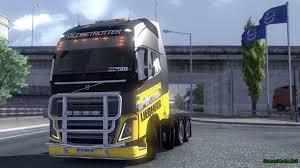 truck volvo 2013 skin volvo fh 2013 liebherr gamesmods net fs17 cnc fs15 ets