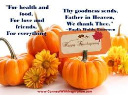 thanksgiving poems prayers and blessings ralph waldo emerson