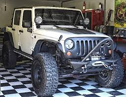 jeep wrangler unlimited flat fenders amazon com auxmart flat fender flares for 2007 2015 jeep wrangler