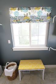 Roman Shades Over Wood Blinds Diy Roman Shades From Blinds Video Withheart
