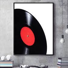 Wohnzimmer Records Klassische Schallplatten Kunst Leinwand Poster Modernen