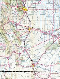 Usa Interstate Map by Interstate Guide Interstate 25