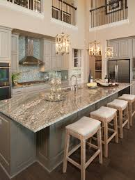kitchen islands with granite tops gorgeous two kitchen granite countertops pendant lighting