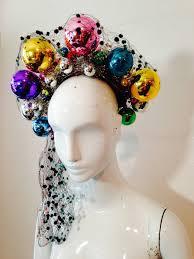 1940s irina roublon eccentric and fabulous christmas ornament hat