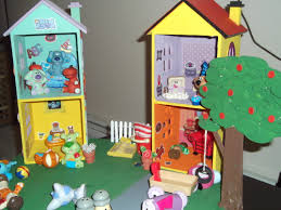 diy blues clues house blues room blues that i made for my