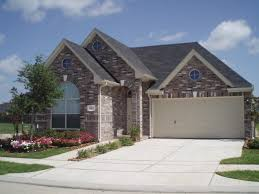 Brick Home Designs Dark Brown Garage Doors Small Home Plans With Garage Attached