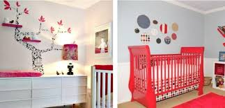 deco chambre bebe fille décoration chambre bébé créative 35 idées en couleurs