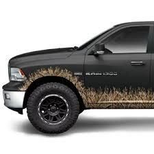 Truck Accessories Interior Camo Truck Wraps Accessories Decals Mossy Oak Truck Accent