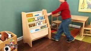 Kidcraft Bookcase Kidkraft Sling Bookshelf Natural Walmart Com