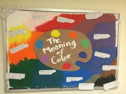 the meaning of color ra bulletin boards pinterest ra