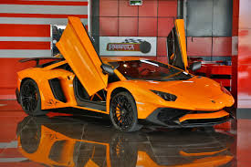 yellow lamborghini aventador for sale orange lamborghini aventador sv for sale in dubai