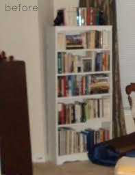 Crate Bookcase Before U0026 After Wall Cabinet Stacked Crate Bookshelf U2013 Design Sponge