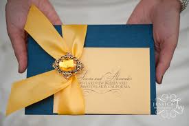 beauty and the beast wedding invitations navy yellow wedding inspired by beauty the beast