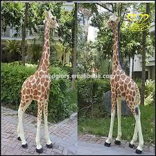 animaux resine jardin jardin paysage animal sculpture résine girafe décoration
