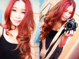 ginger hair color at home how i dye my hair bright red at home no bleach youtube