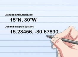 Longitude Position In A Time by 4 Ways To Write Latitude And Longitude Wikihow