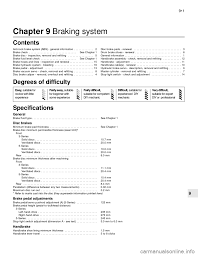 brake pads bmw 5 series 1991 e34 workshop manual