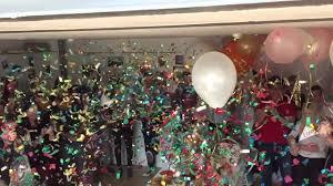party confetti talking tables confetti party cannon
