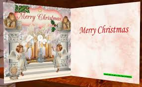 second life marketplace free jseven christmas card angels and