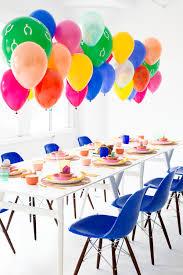 colorful modern furniture a modern colorful friendsgiving studio diy