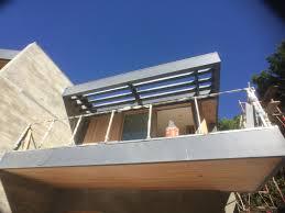 custom fabricated steel shade trellis kurt krueger architects inc