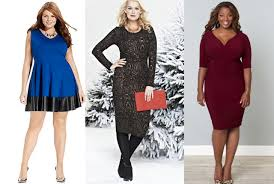 day to night plus size dresses for the holiday season