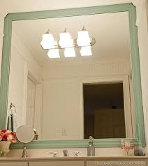how to install mirror frame