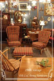 early american colonial revival furniture vintage 1960s