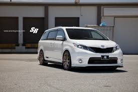 lexus minivan 2015 2015 toyota sienna on pur wheels looks unexpectedly sporty