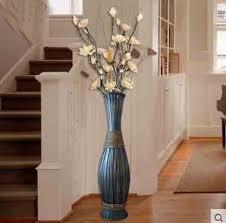 Large Wood Floor Vase Aliexpress Com Buy 90cm High Big Bamboo U0026 Wood Vase Large Floor