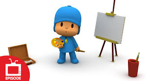 pocoyo paint picture s01e50