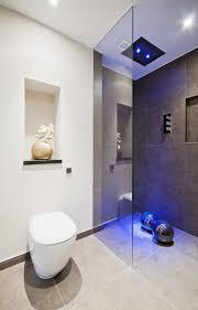 Modern Shower Design Bathroom Modern White Lamp Blue Model Bathrooms Pictures White