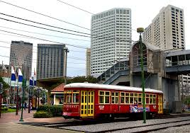 New Orleans Rta Map by Riverfront Streetcar Line Wikipedia