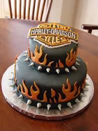 harley davidson birthday cake cakecentral intended for birthday