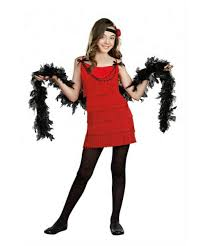 halloween costume flapper flapper ruby red kids costume 1920s flapper costumes