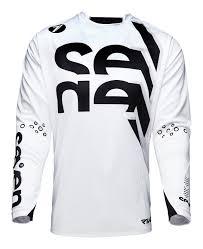 white motocross gear seven mx men u0027s rival chop motocross jersey ebay