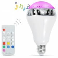 Bluetooth Light Bulb Speaker Bluetooth E27 Led Light Bulb Speaker Ac 100 240v 16 15 Online