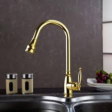polished brass kitchen faucets antique brass kitchen faucet