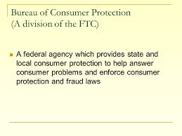 consumer fraud bureau standard 3 objective 4 describe the rights and responsibilities of