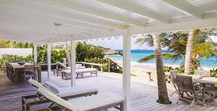 Beach House Furniture by Villa Beach House Flamands St Barts By Premium Island Vacations