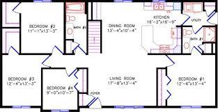 Ranch 16 X 50 Floor Plans
