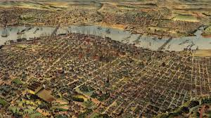 Portland City Maps by Portland Oregon History And Map 1890 Youtube